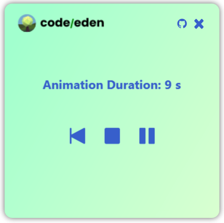 The JavaFX Animation timer modified to allow pausing and restarting