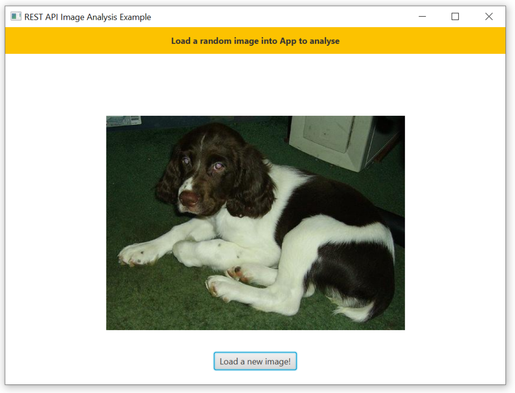 A simple JavaFX application to load images from the web