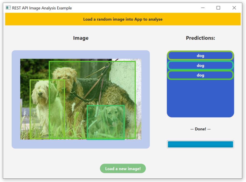 JavaFX image analysis app